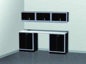 PROIITM Garage Cabinet Combination 8 Foot Wide #PGC008-01X