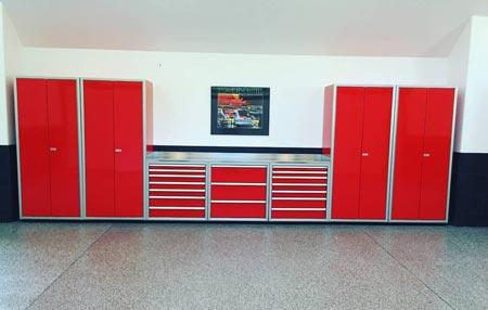 Moduline Pro Garage Cabinets