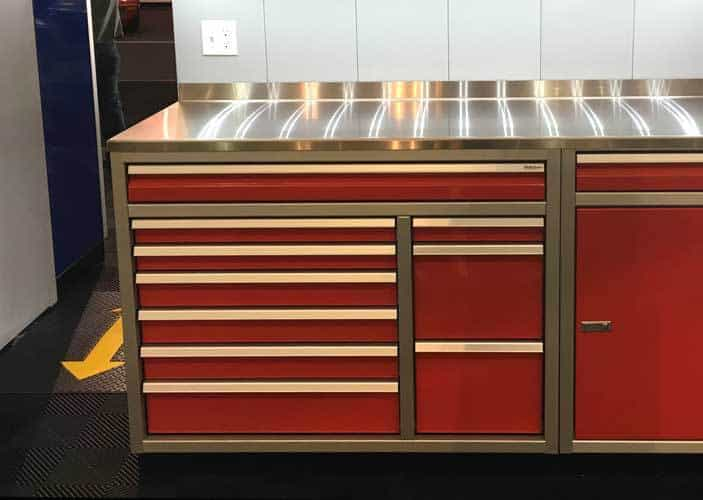 Aluminum Trailer Cabinet Tool Cabinet Moduline Cabinets