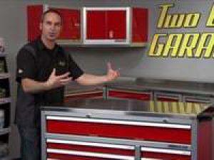 Moduline Aluminum Cabinets on Two Guys Garage