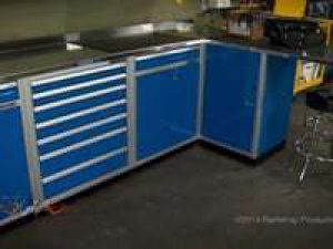 Moduline Aluminum Cabinet Systems Featured on Gearz