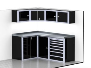 Trailer & Vehicle Aluminum Cabinets Lightweight
