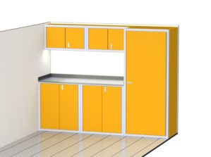High End Cabinets For Storage In Enclosed Trailers
