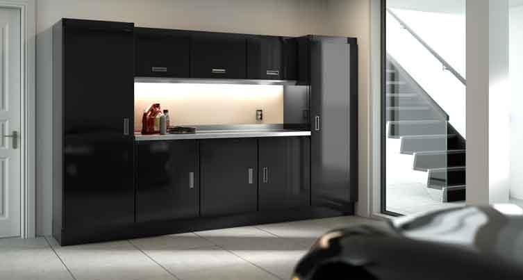 Black Select Cabinets For Garage & Shop