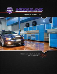 Moduline Aluminum Garage Cabinets Catalog