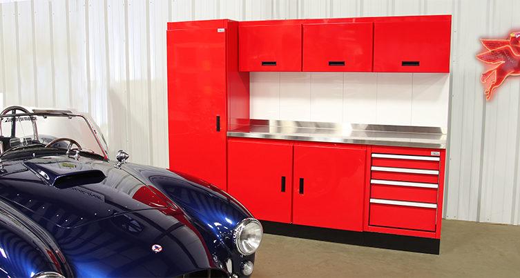 Moduline Metal Garage Cabinets Wall System
