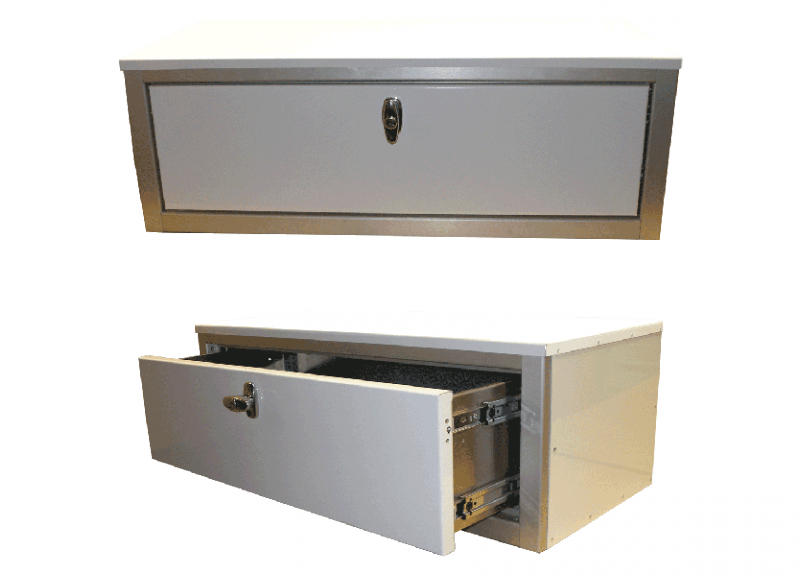 High Security GSA Approved MIlitary Aluminum Drawer