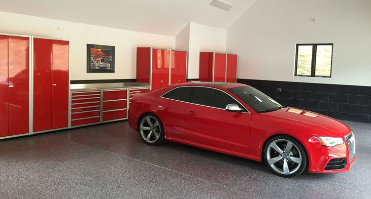 Professional High End Garage Cabinet Systems