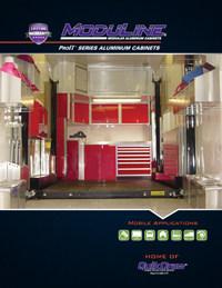 Moduline Mobile Lightweight Aluminum Cabinets