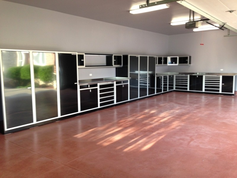 Gallery Of Garage Amp Shop Aluminum Cabinets Moduline Part 8