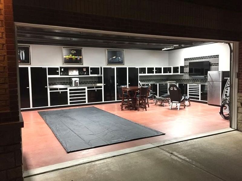 Exceptionnel Moduline Signature Black Aluminum Garage Storage Cabinets