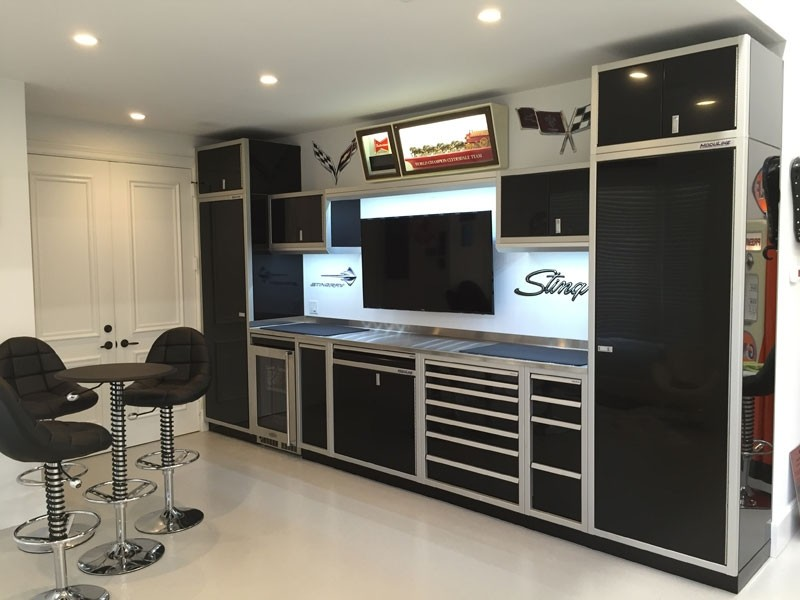 Gallery Of Garage Amp Shop Aluminum Cabinets Moduline