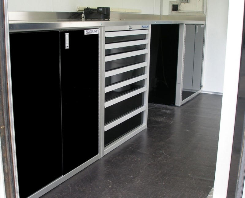 ... Roselawnlutheran Moduline Cabinets Photos Of Trailer Vehicle  Lightweight Aluminum Cabinets Moduline Part 8 · ««