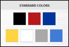 Moduline Color Chart
