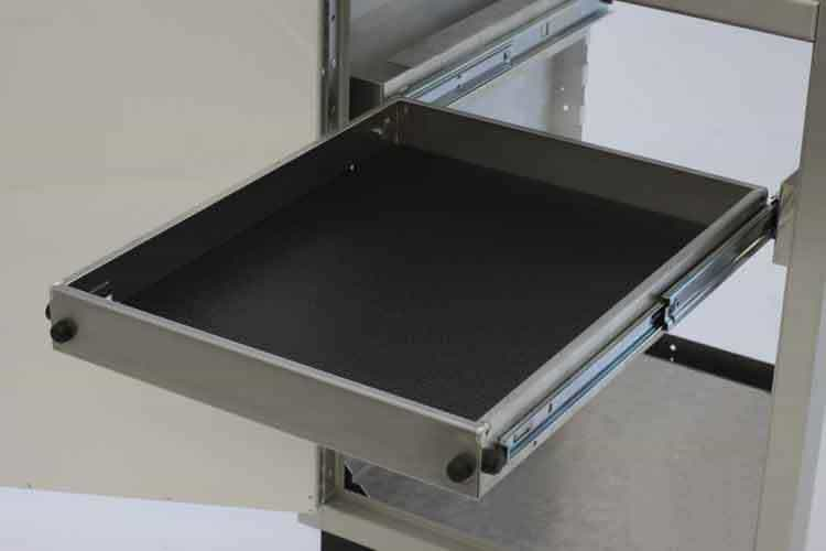 Pull-Out Shelf For Aluminum Base Cabinet