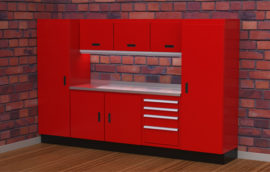 Aluminum Storage Cabinets for Garage & Shop