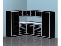 Aluminum Metal Storage Cabinet Garage & Shop