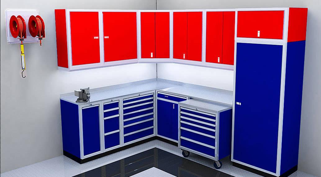 Garage Wall Amp Storage Corner Cabinets Moduline