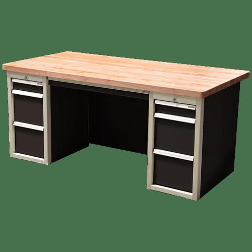 Metal Garage Storage And Desk Cabinets