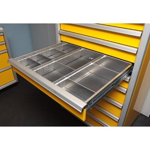 Partition For Storage In Garage : Proii™ aluminum garage tool cabinets moduline