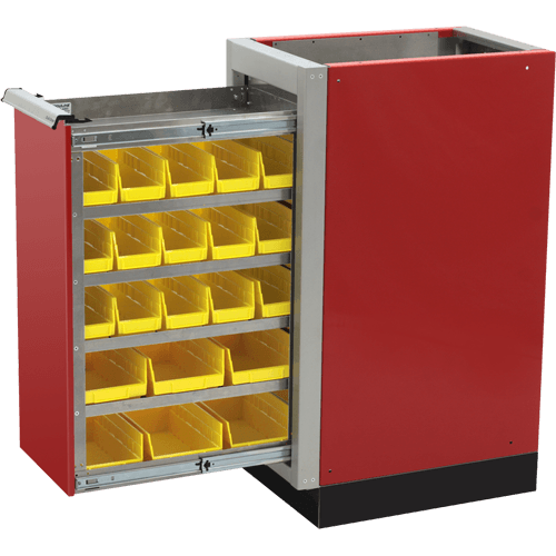 Garage Parts Bin Workshop Cabinet Systems
