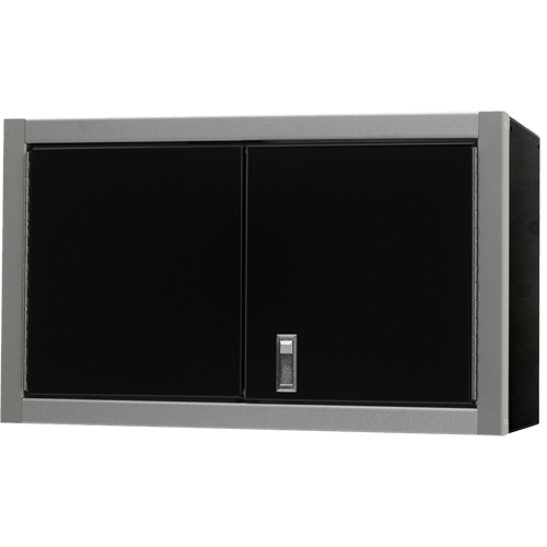PROIITM Aluminum Double Door Wall Cabinet