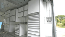 GSA Approved Cabinets For Enclosed Trailers