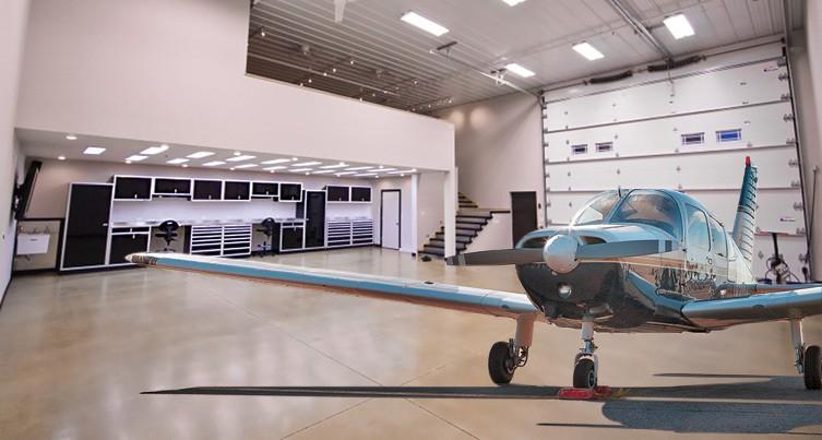 Aluminum Cabinets For Airplane Hangar Shop