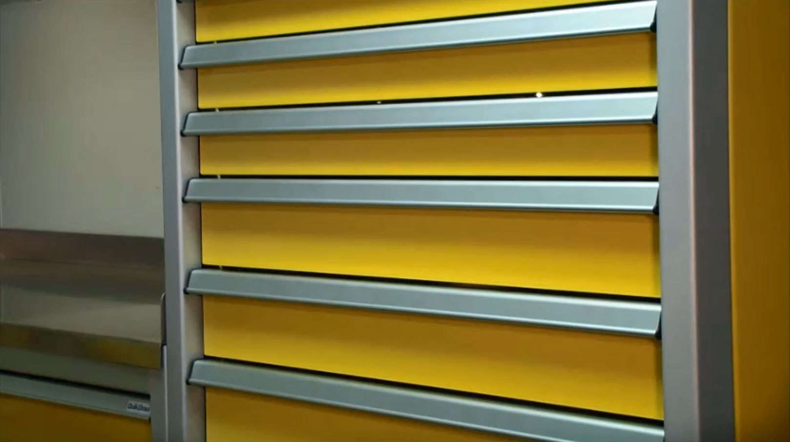 Yellow Drawer And Tool Cabinets For Garage Video