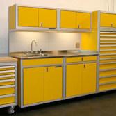 Beau Custom Metal Garage Cabinets For Storage Modulineu0027s ...