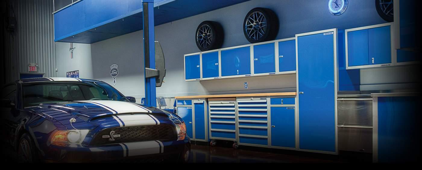 Moduline Aluminum Garage Storage Cabinets