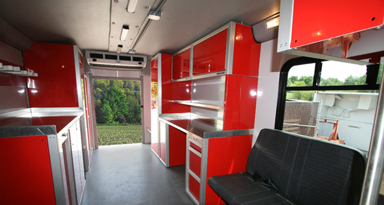 Lightweight Aluminum Cabinets For Enclosed Race Trailers