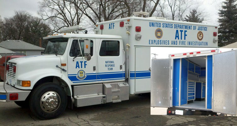 Vehicle EMS Mobile Storage Cabinets