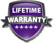 Lifetime Warranty for Aluminum Storage Cabinets
