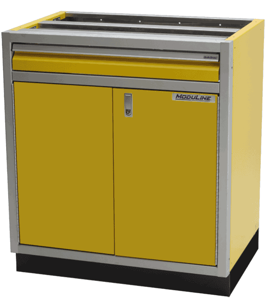 Yellow Aluminum Base Cabinet Storage Systems