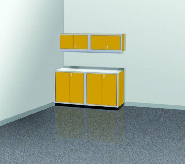 PROIITM Garage Cabinet Combination 6 Foot Wide #PGC006-01X