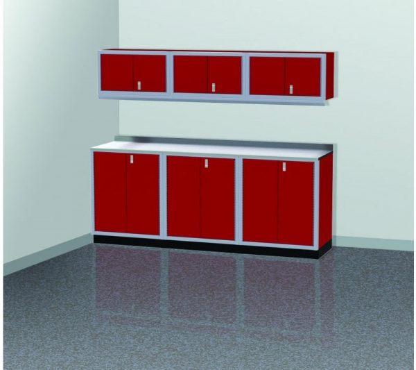 ProII™ Garage Cabinet Combination 8 Foot Wide #PGC008-03X