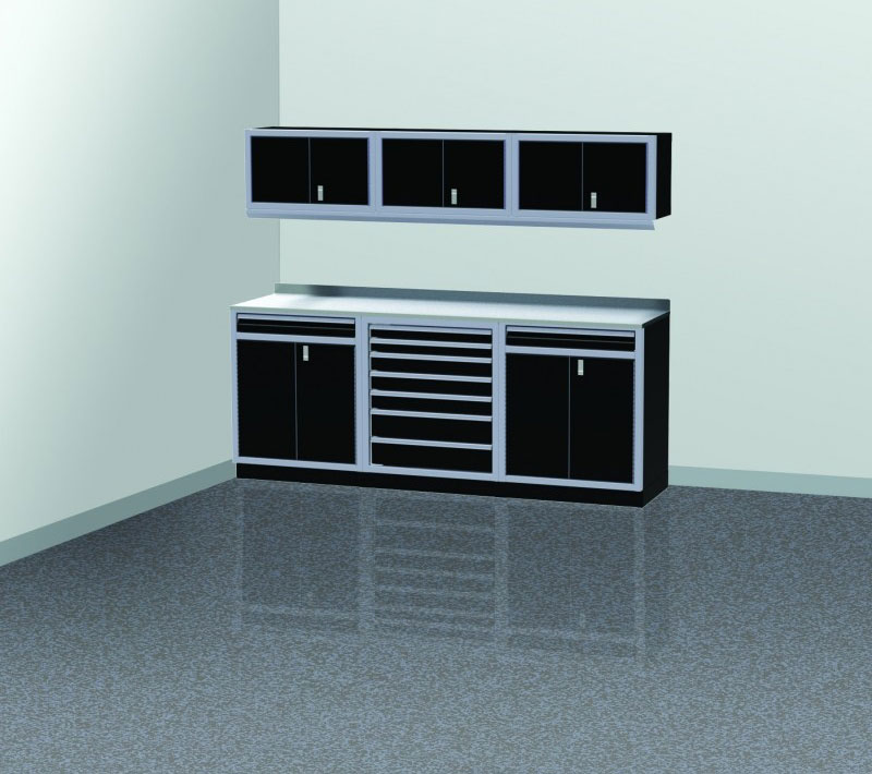 ProII™ Garage Cabinet Combination 8 Foot Wide #PGC008-05X