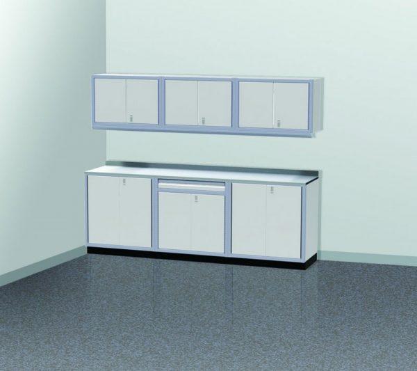 PROIITM Garage Cabinet Combination 9 Foot Wide #PGC009-01X