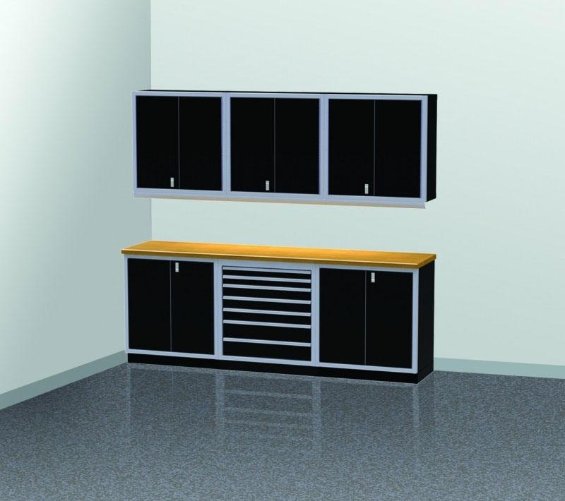 PROIITM Garage Cabinet Combination 9 Foot Wide #PGC009-02X