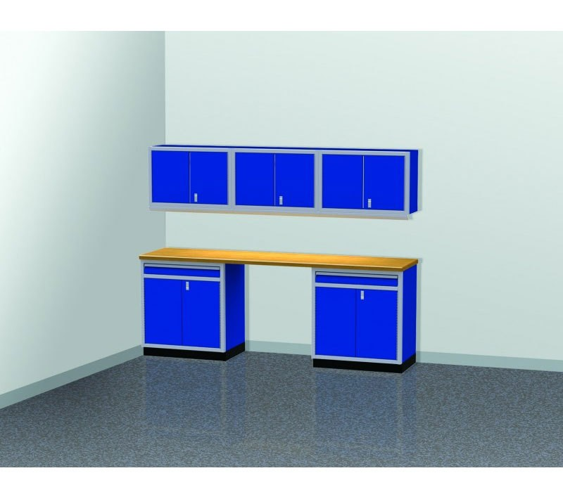 PROIITM Garage Cabinet Combination 9 Foot Wide #PGC009-03X