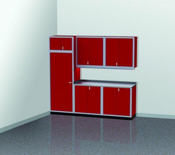 "PROIITM Garage Cabinet Combination 8'-8"" Wide #PGC009-04X"