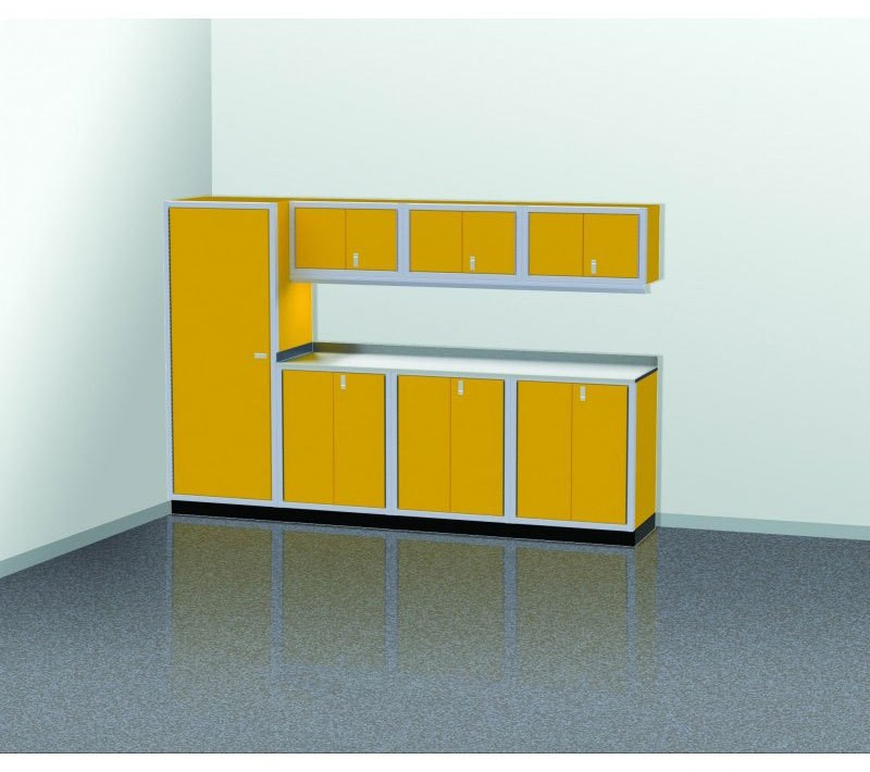 Attirant PROIITM Garage Cabinet Combination 10 Foot Wide #PGC010 02X