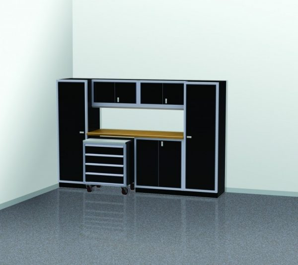 PROIITM Garage Cabinet Combination 10 Foot Wide #PGC010-03X