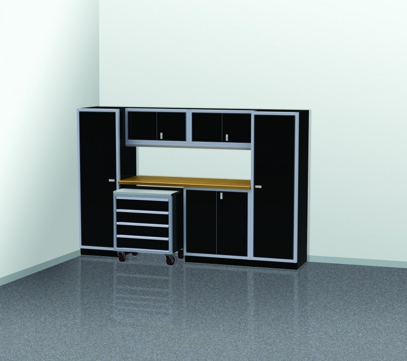 PROIITM Garage Cabinet Combination 10 Foot Wide #PGC010 03X