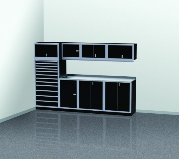 PROIITM Garage Cabinet Combination 10 Foot Wide #PGC010-04X