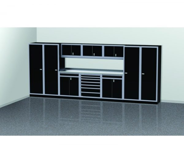 PROIITM Garage Cabinet Combination 16 Foot Wide #PGC016-03X