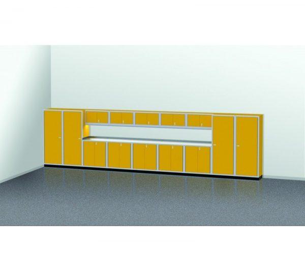 PROIITM Garage Cabinet Combination 25 Foot Wide #PGC025-02X