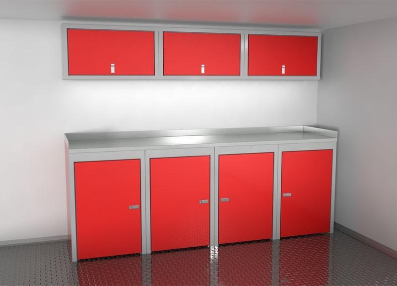 Aluminum Trailer Cabinets | Vehicle Storage | Moduline Cabinets