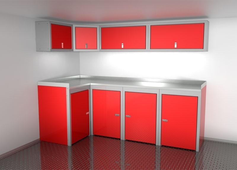 Aluminum Trailer Cabinets | Vehicle Storage | Moduline Cabinets ...